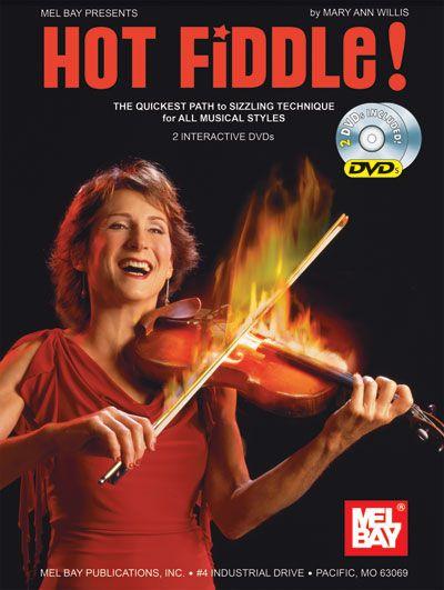 Harbar Mary Ann - Hot Fiddle! + Dvd - Fiddle