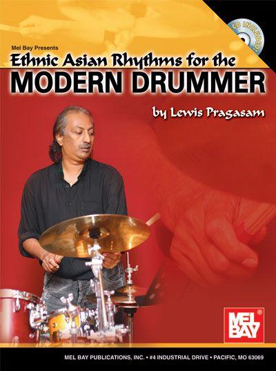 Pragasam Lewis - Ethnic Asian Rhythms For The Modern Drummer + Cd - Drum Set