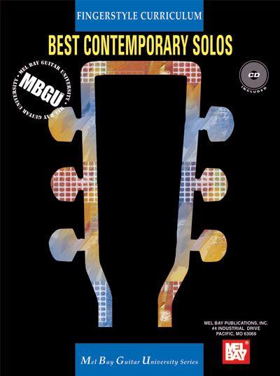 Siktberg Stephen - Fingerstyle Curriculum: Best Contemporary Solos + Cd - Guitar