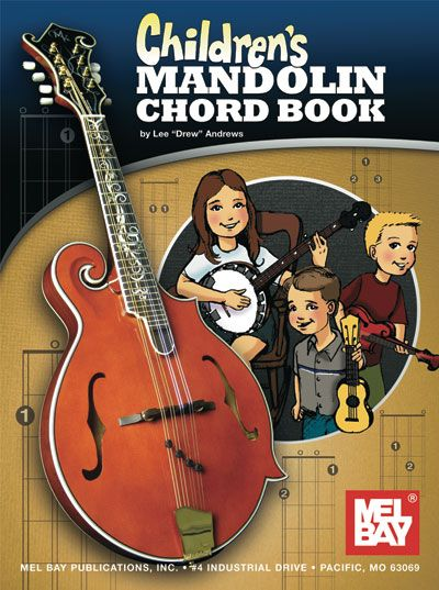 Drew Andrews Lee - Children's Mandolin Chord Book - Mandolin