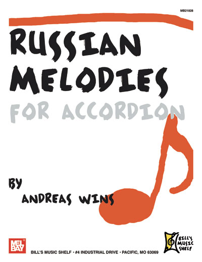 WINS ANDREAS - RUSSIAN MELODIES FOR ACCORDION - ACCORDION