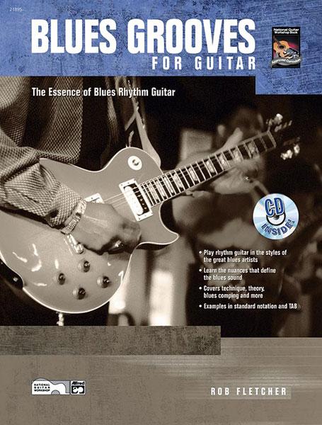 Fletcher Bob - Blues Grooves For Guitar + Cd - Guitar