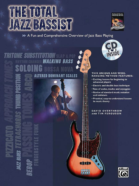 Overthrow David - Total Jazz Bassist + Cd - Bass Guitar