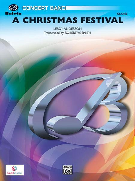 Anderson Leroy - Chrismas Festival, A - Symphonic Wind Band