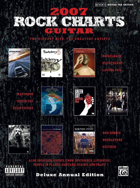 2007 Rock Charts Guitar - Guitar Tab