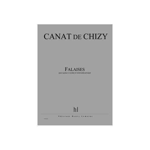Canat De Chizy E. - Falaises - Quatuor A Cordes, Violoncelle Principal