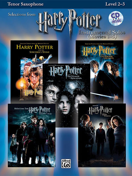 HARRY POTTER SOLOS + CD - SAXOPHONE TENOR