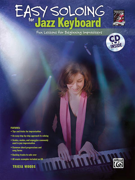 Woods Tricia - Easy Soloing Jazz Keyboard + Cd - Electronic Keyboard