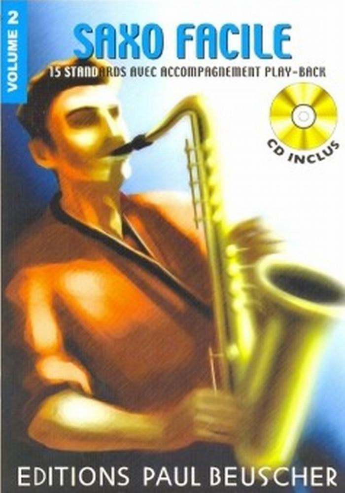 SAXOPHONE FACILE VOL.2 + CD