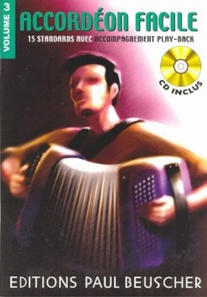 ACCORDÉON FACILE VOL.3 + CD