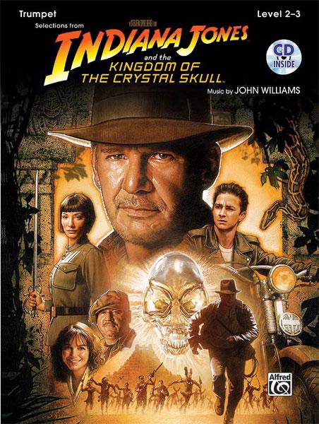 Williams John - Indiana Jones - Crystal Skull + Cd - Trumpet And Piano