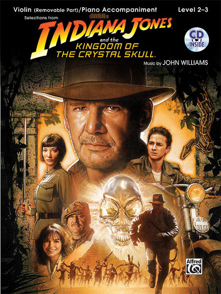 Williams John - Indiana Jones - Crystal Skull + Cd - Violin And Piano
