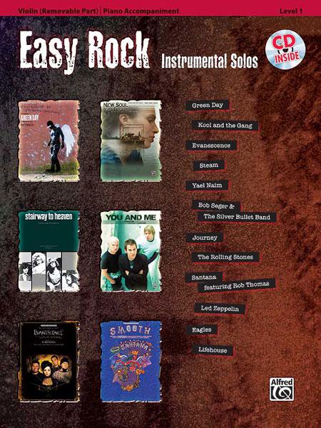 Easy Rock Instrumentals + Cd - Violin Solo