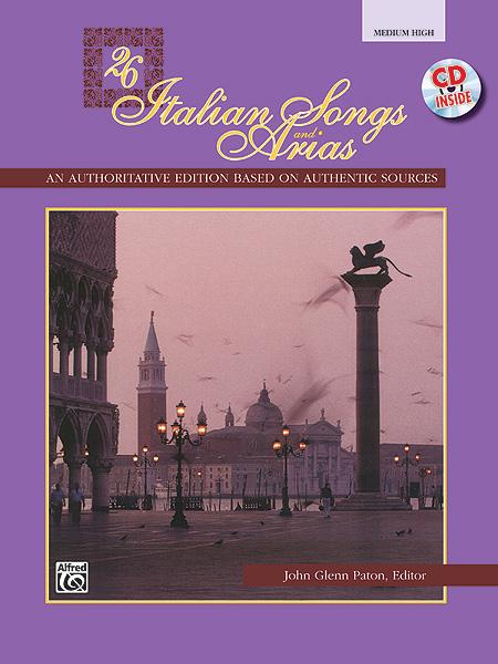Paton John Glenn - 26 Italian Songs And Arias + Cd - Medium And High Voice (par 10 Minimum)