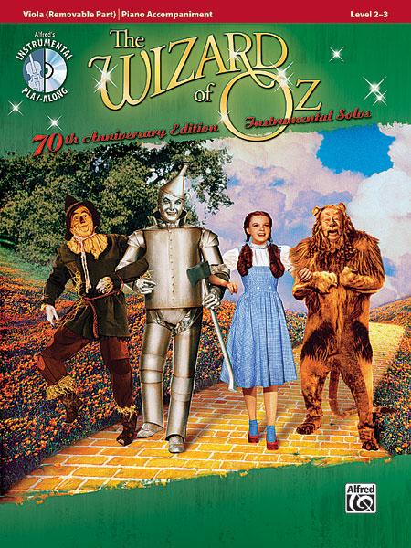 Garland Judy - Wizard Of Oz + Cd - Viola And Piano
