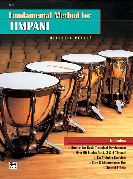 Peters Mitchell - Fundamental Method For Timpani - Percussion