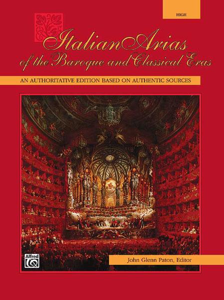 Paton John Glenn - Italian Arias Of The Baroque - Voice And Piano (par 10 Minimum)