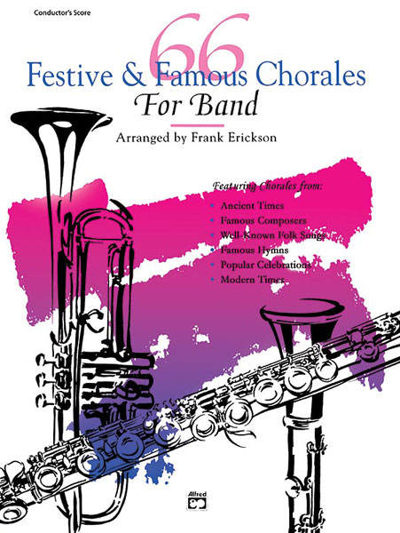 ERICKSON FRANK - 66 FESTIVE AND FAMOUS CHORALES - ALTO SAX 2