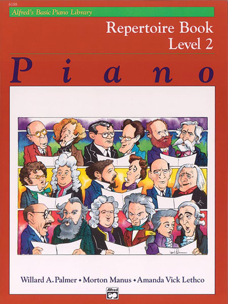 PALMER MANUS AND LETHCO - ALFRED'S BASIC PIANO REPERTOIRE LEVEL 2 - PIANO
