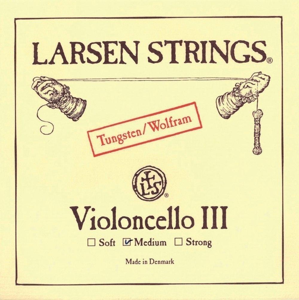 Larsen Strings Cordes Pour Violoncelle Medium