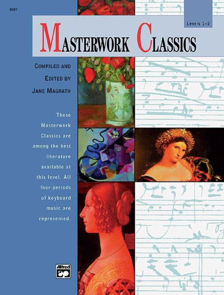 Magrath Jane - Masterwork Classics Level 1-2 + Cd - Piano
