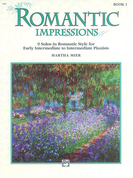 MIER MARTHA - ROMANTIC IMPRESSIONS BOOK 1 - PIANO