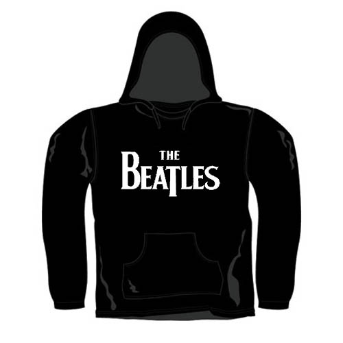BEATLES HOODED SWEATER - MOTIF : LOGO - M