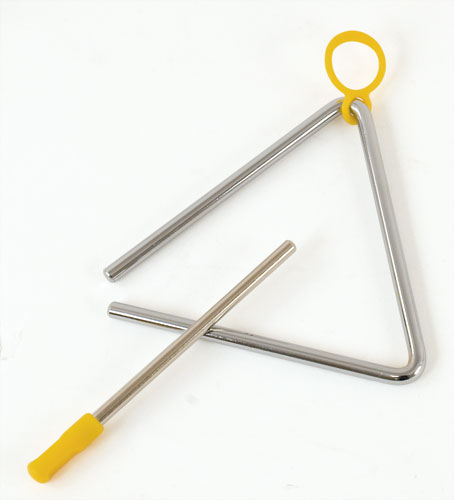 TRIANGLE 13 CM - ATTACHE PLASTIQUE