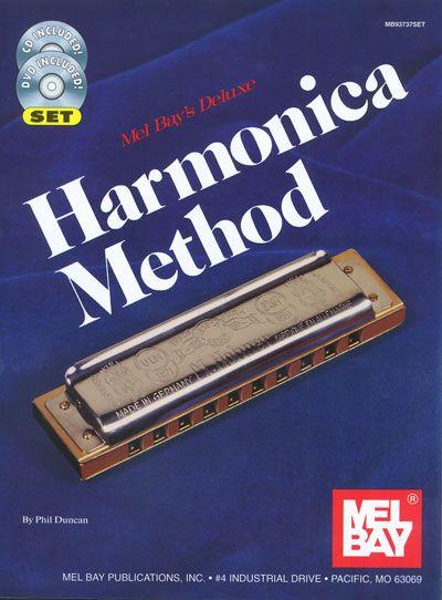 Duncan Phil - Deluxe Harmonica Method + Cd + Dvd - Harmonica