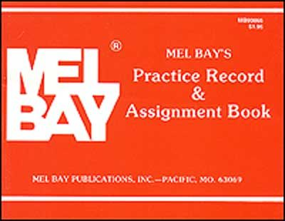 Practice Record And Assignment Book - All Instruments