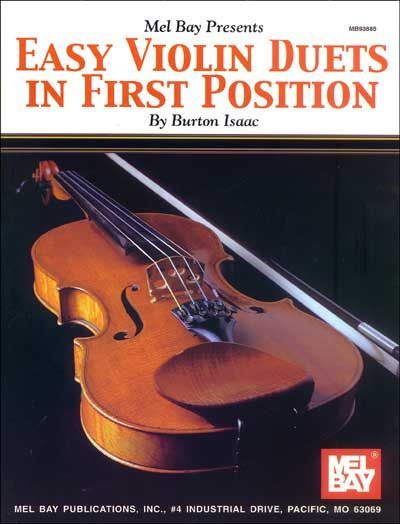 Burton Isaac - Easy Violin Duets In First Position - Violin