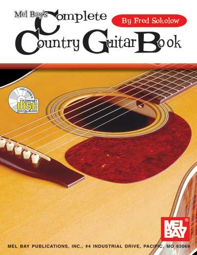 Sokolow Fred - Complete Country Guitar Book + Cd - Guitar