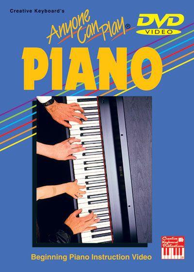 Adams Beth - Anyone Can Play Piano - Piano - DVD