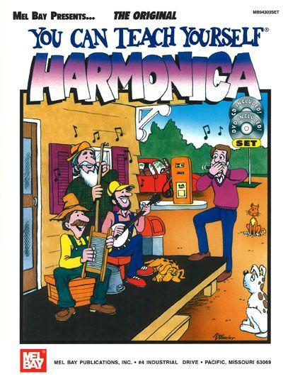 Heaps-nelson George - You Can Teach Yourself Harmonica + Cd + Dvd - Harmonica