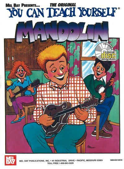 Bruce Dix - You Can Teach Yourself Mandolin + Cd - Mandolin