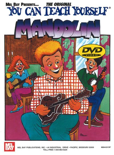 Bruce Dix - You Can Teach Yourself Mandolin + Dvd - Mandolin