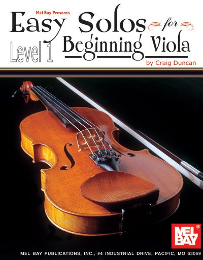 Duncan Craig - Easy Solos For Beginning  - Viola