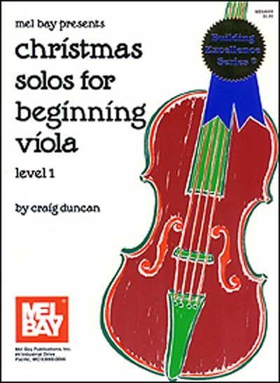 Duncan Craig - Christmas Solos For Beginning - Viola
