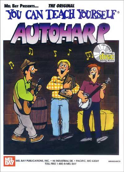 Peterson Meg - You Can Teach Yourself Autoharp + Cd - Harp