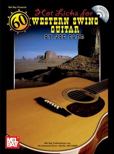 Carr Joe - 60 Hot Licks For Western Swing Guitar + Cd - Guitar