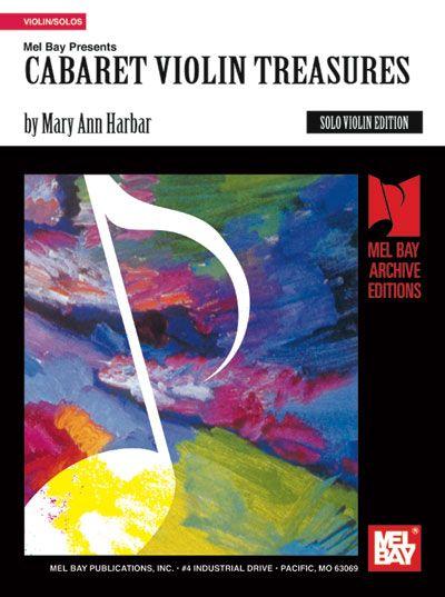 Harbar Mary Ann - Cabaret Violin Treasures - Violin