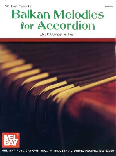 BALKAN MELODIES FOR ACCORDION - ACCORDION