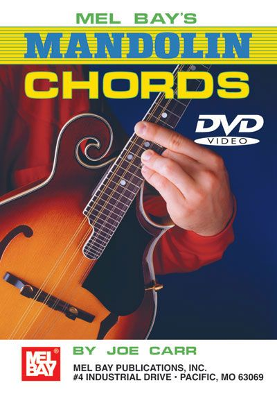 Carr Joe - Mandolin Chords Dvd - Mandolin
