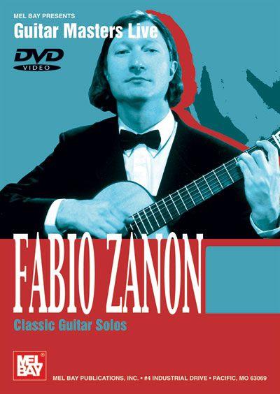 Dvd Guitar Masters Live Zanon Fabio Classic Guitar Solos