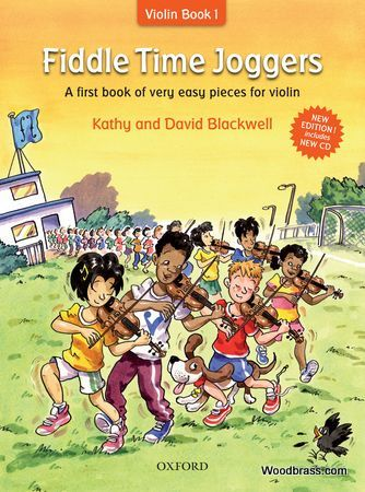 Blackwell Kathy and David - Fiddle Time Joggers + Cd New Edition