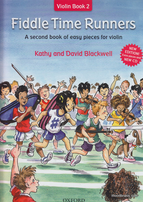 Blackwell K. & D. - Fiddle Time Runners + Cd Revised Edition