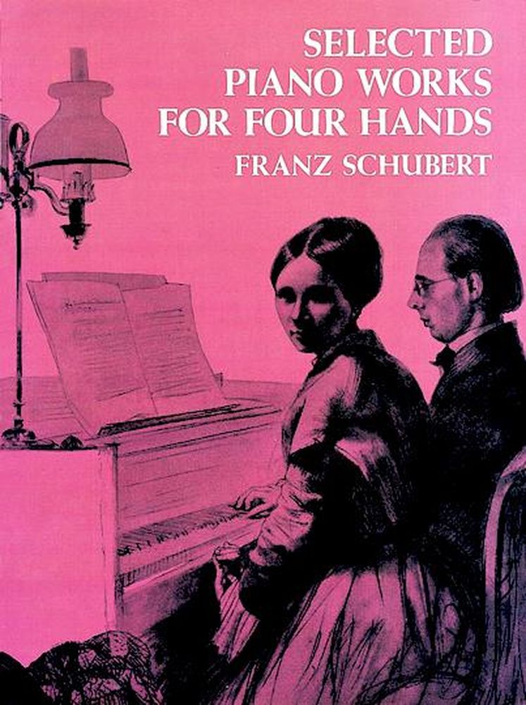 SCHUBERT F. - SELECTED PIANO WORKS FOR FOUR HANDS