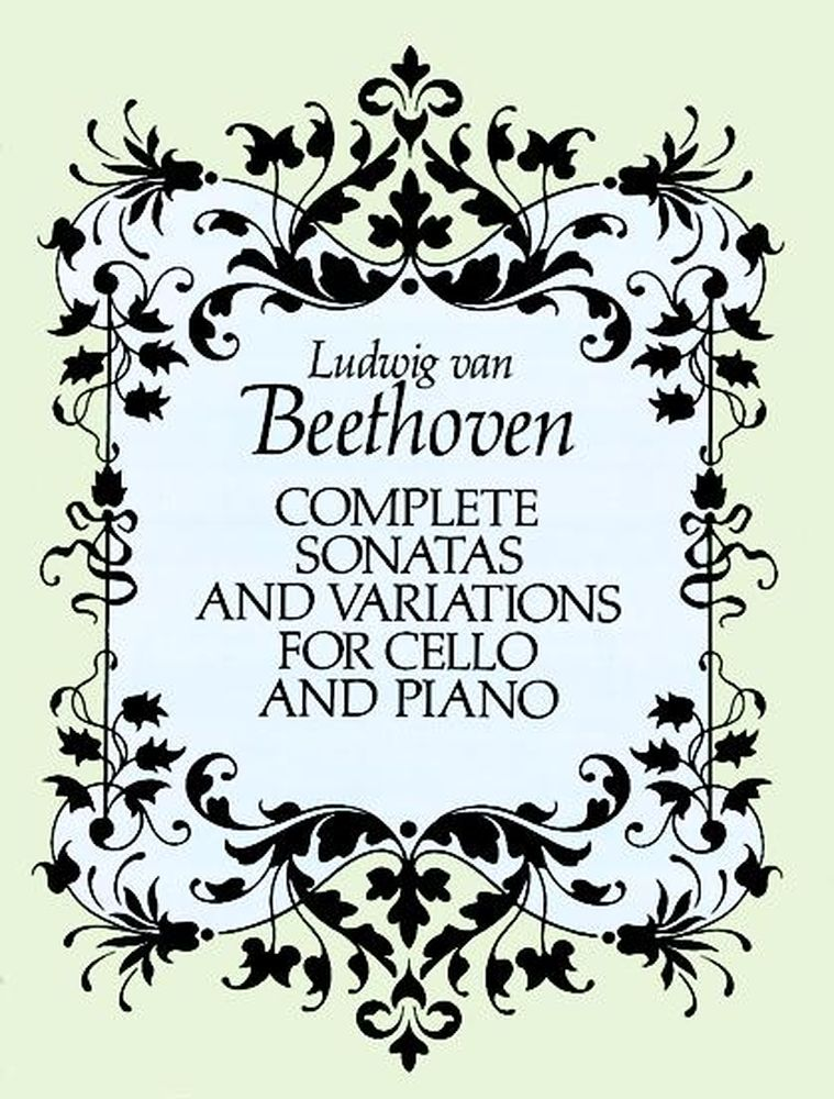 Beethoven L.van - Complete Sonatas And Variations - Cello, Piano