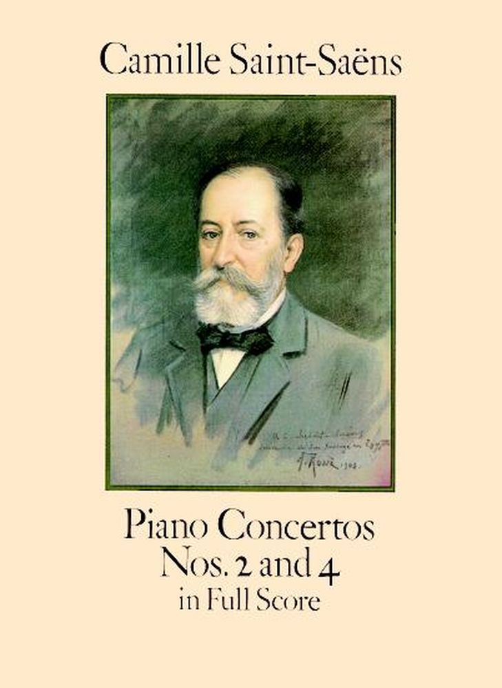 SAINT-SAENS C. - PIANO CONCERTOS N°2 AND 4 - FULL SCORE
