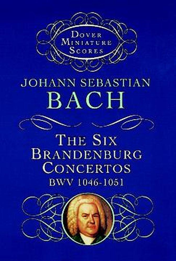 Bach J.s. - Six Brandenburg Concertos - Conducteur Poche